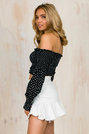 Boni Dotty Long Sleeve Top
