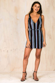 Chariot Lane Mini Dress-DRESSES-BAMBI