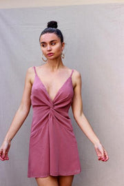 After Hours Dress Mauve