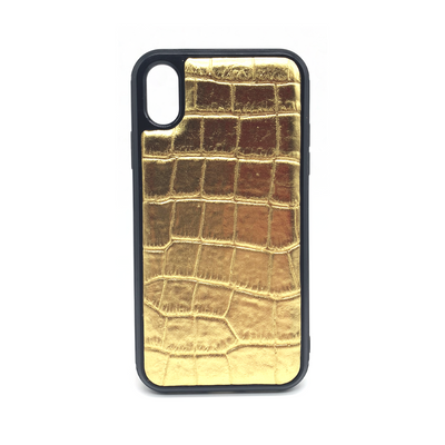 iPhone X/XS Phone Case - Lustrous Gold