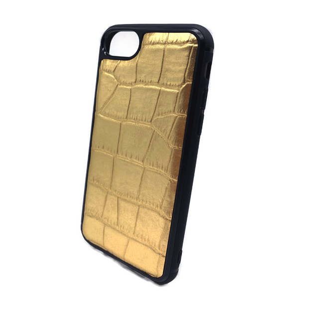iPhone 7 Phone Case - Lustrous Gold