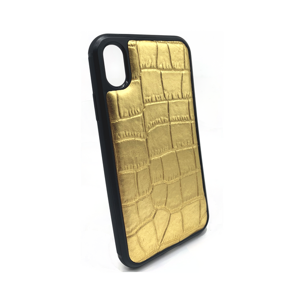 iPhone XR Phone Case - Lustrous Gold