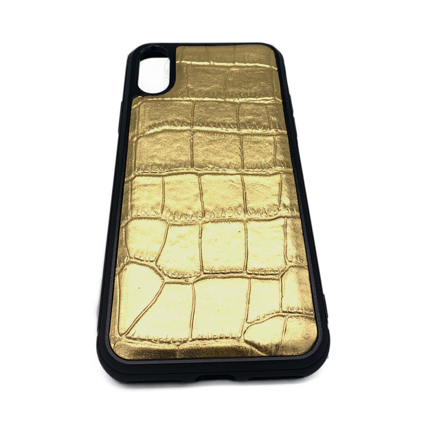 iPhone XS MAX Phone Case - Lustrous Gold