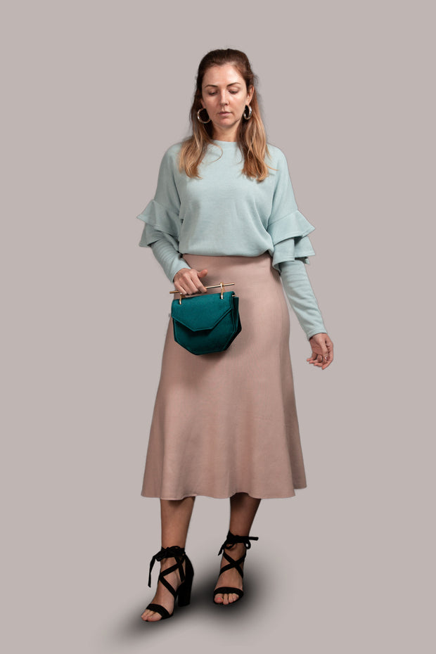Phoebe Skirt Blush