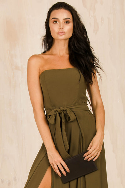 Fiona Jumpsuit - Olive Green