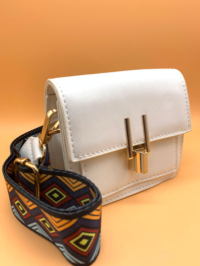 Lady On a Mission Mini Bag White
