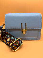 Lady on a Mission Bag Sky Blue