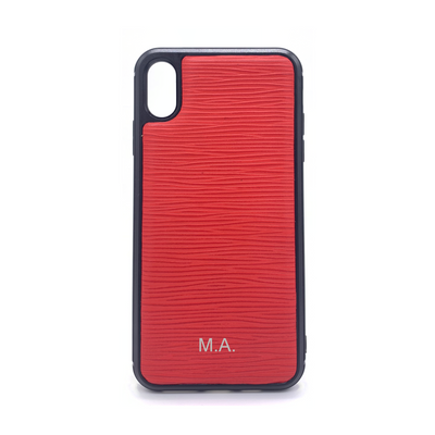 iPhone XS MAX Phone Case - Hot Red