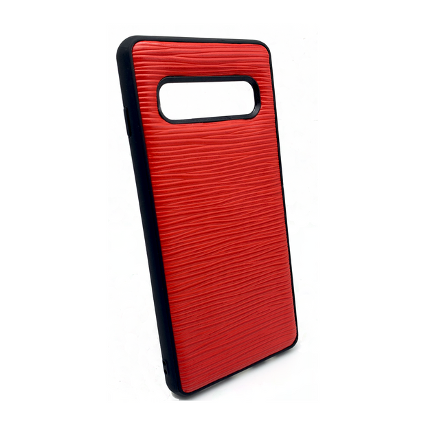Samsung S10 Phone Case - Hot Red