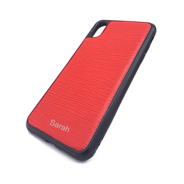 iPhone XR Phone Case - Hot Red