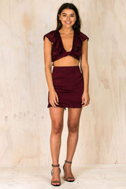 Late Night Burgundy Crop