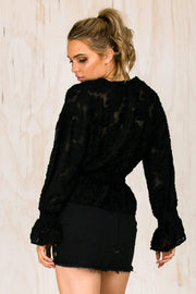 Luana Long Sleeve Top (FINAL SALE)-TOPS-BAMBI