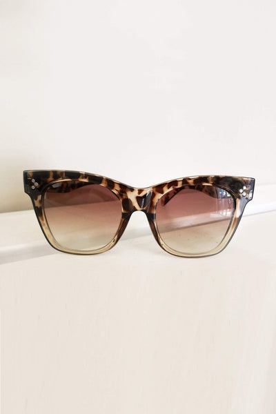 ACCESSORIES - Bold Move Sunglasses - Tort
