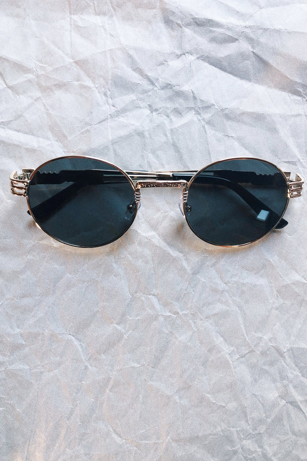 ACCESSORIES - Bombshell Round Sunglasses