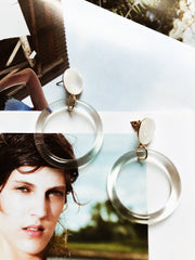 ACCESSORIES - Clear As Day Earrings