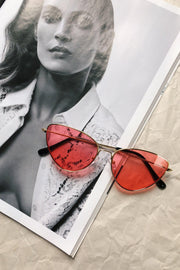 ACCESSORIES - Dreamer Sunglasses - Red/Gold