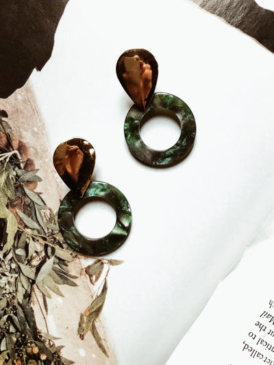 ACCESSORIES - Emerald Tears Earrings