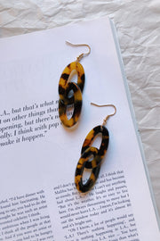ACCESSORIES - Honey Bee Tort Earrings