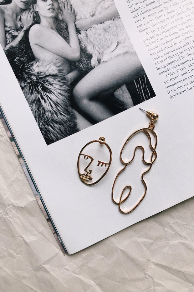 ACCESSORIES - Sculpture Earrings
