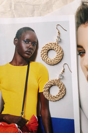 ACCESSORIES - Sofia Weave Earrings