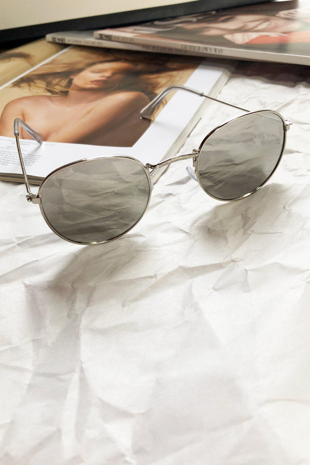 ACCESSORIES - Vana Round Sunglasses - Silver
