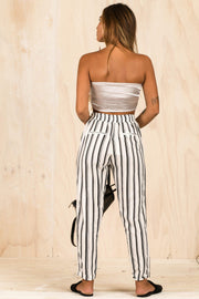 BOTTOMS - Cloud Dreams Stripe Pants