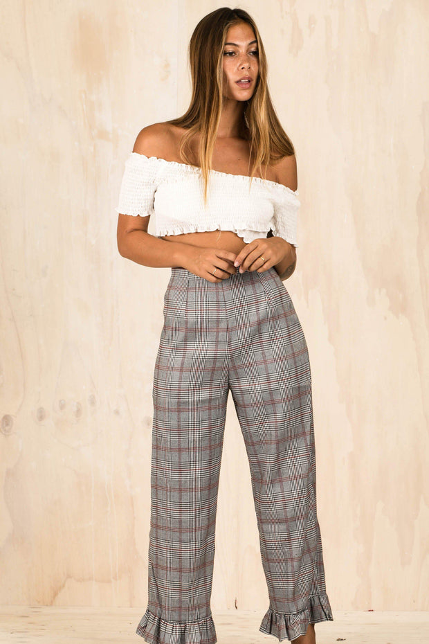 BOTTOMS - Follow My Lead Frill Pants (FINAL SALE)