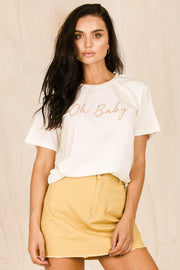 BOTTOMS - Helena Skirt - Yellow (FINAL SALE)