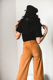 BOTTOMS - High Rollas Brown Pants (FINAL SALE)