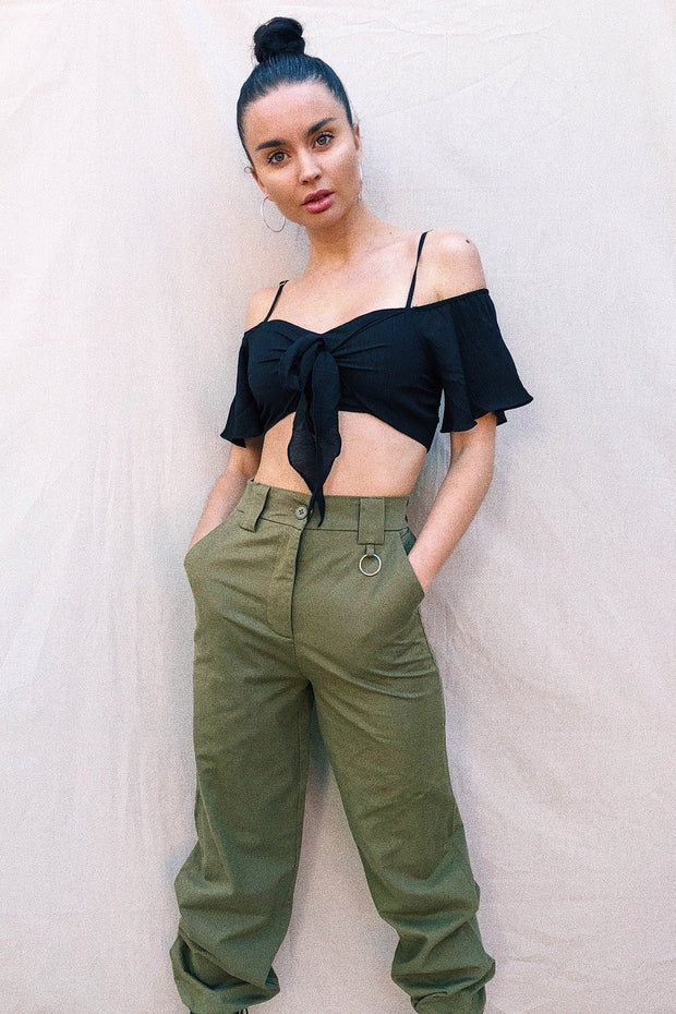 BOTTOMS - Tachi Pants - Khaki