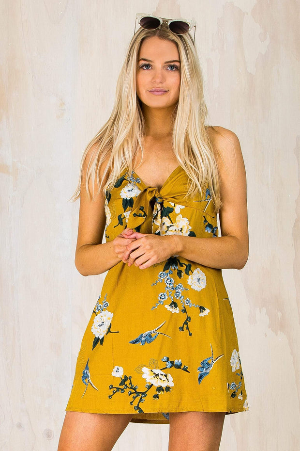 DRESSES - Annalise Floral Tie Dress (FINAL SALE)