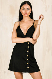 DRESSES - Back Me Up Dress Black (FINAL SALE)