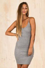DRESSES - Grey Lily Ribbon Dress