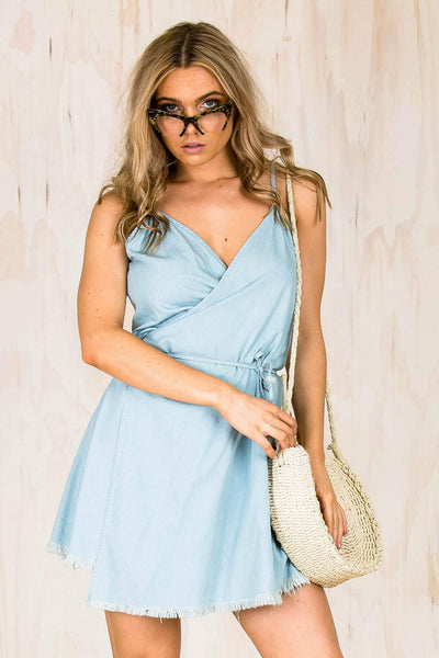 DRESSES - Lifehouse Wrap Dress (FINAL SALE)