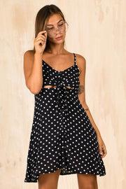 DRESSES - Marie Polka Dot Mini Dress (FINAL SALE)