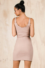 DRESSES - Pink Say It Right Knit Dress