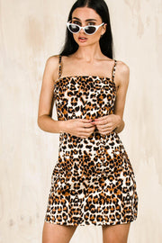 DRESSES - Sasha Leopard Print Dress
