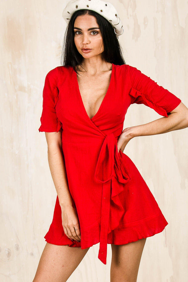 DRESSES - Vendetta Wrap Dress