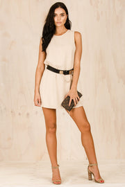 DRESSES - Zanthia Shift Dress Beige
