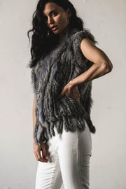 OUTERWEAR - Alice May Vest Grey