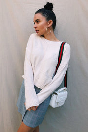 OUTERWEAR - Cream On Top Jumper