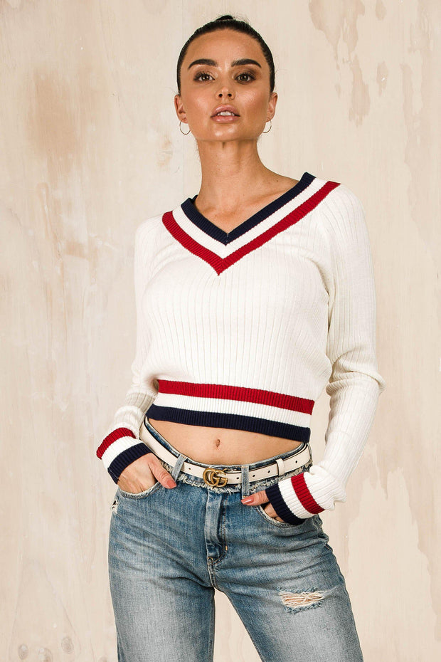 OUTERWEAR - Gia Crop Jumper (FINAL SALE)