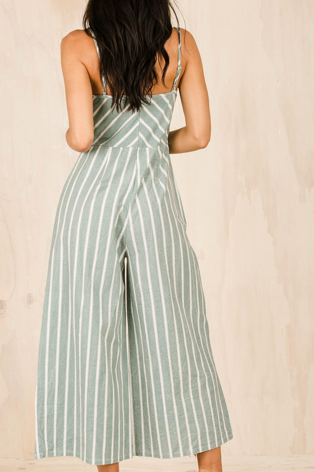 PLAYSUITS + JUMPSUITS - Bittersweet Jumpsuit - Aqua
