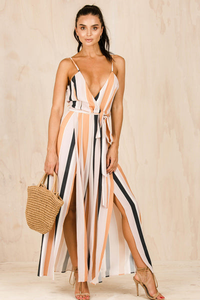 PLAYSUITS + JUMPSUITS - Chelsea Split Jumpsuit (FINAL SALE)