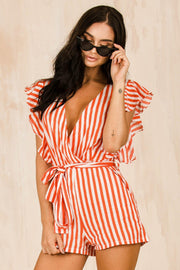 PLAYSUITS + JUMPSUITS - Havana Frill Playsuit (FINAL SALE)