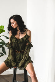 PLAYSUITS + JUMPSUITS - Into The Forest Playsuit (FINAL SALE)