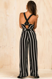 PLAYSUITS + JUMPSUITS - Sarsha Stripe Jumpsuit (FINAL SALE)