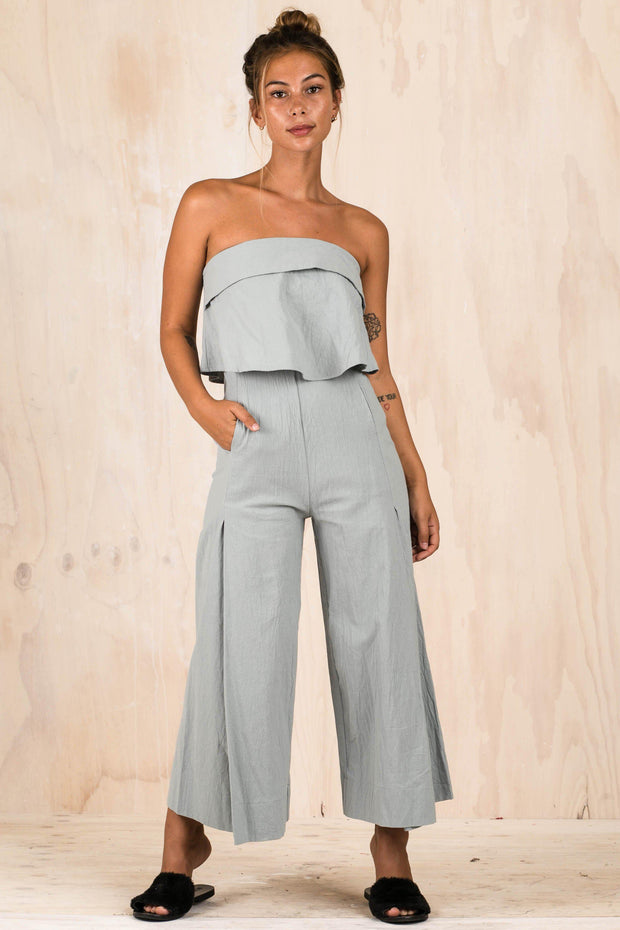 PLAYSUITS + JUMPSUITS - Sevendays Sage Jumpsuit (FINAL SALE)