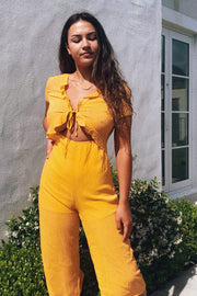 PLAYSUITS + JUMPSUITS - Summer Kiss Jumpsuit (FINAL SALE)