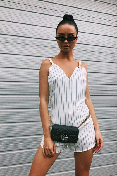 PLAYSUITS + JUMPSUITS - Watson Stripe Playsuit
